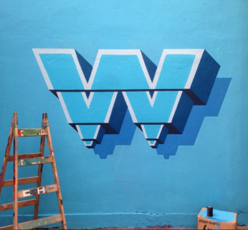 W by NasePop 36 days of type