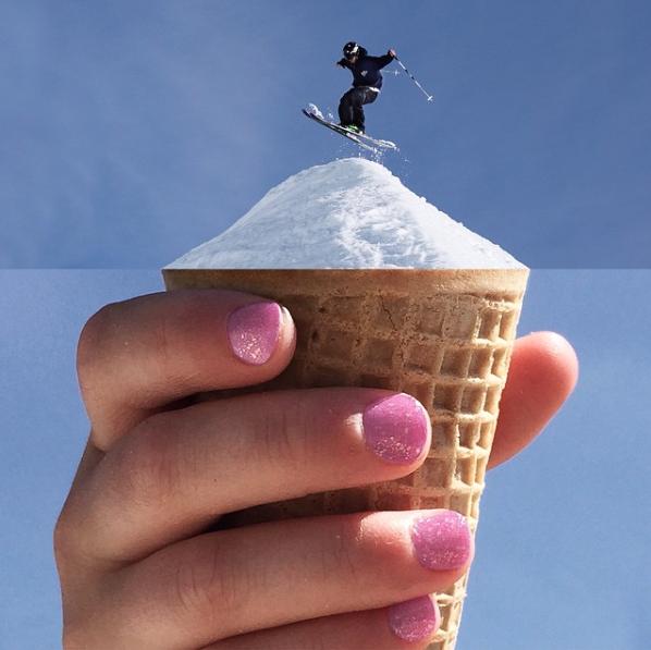 smcmennamy ice-cream ski