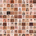 A project that matches skin tones to Pantone swatches