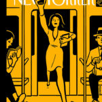 The first augmented reality cover for The New Yorker