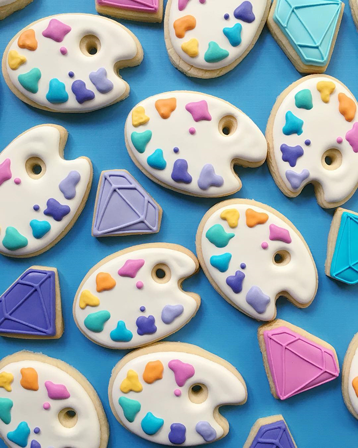 Colorful cookies by Holly Fox