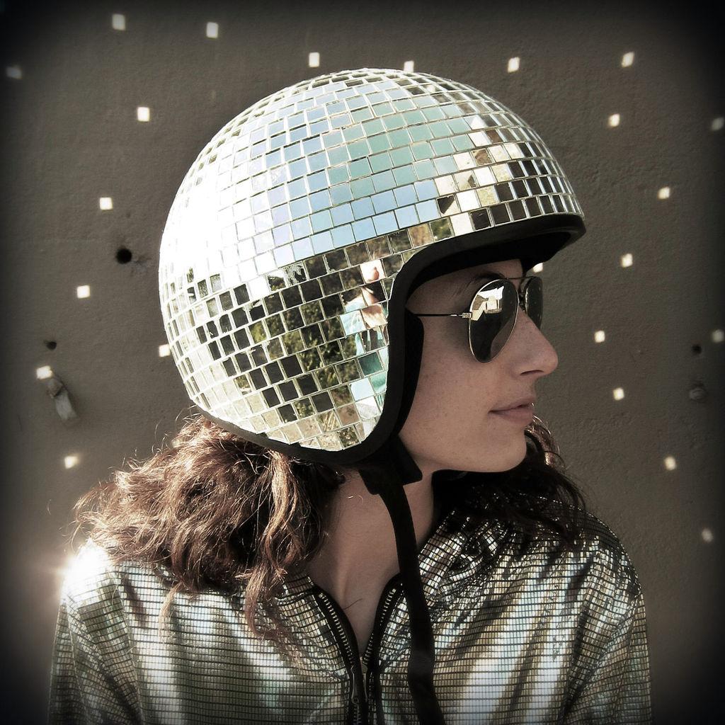 DIscoBall-Helmet