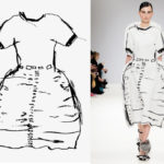 Clothes collection made from marker drawings