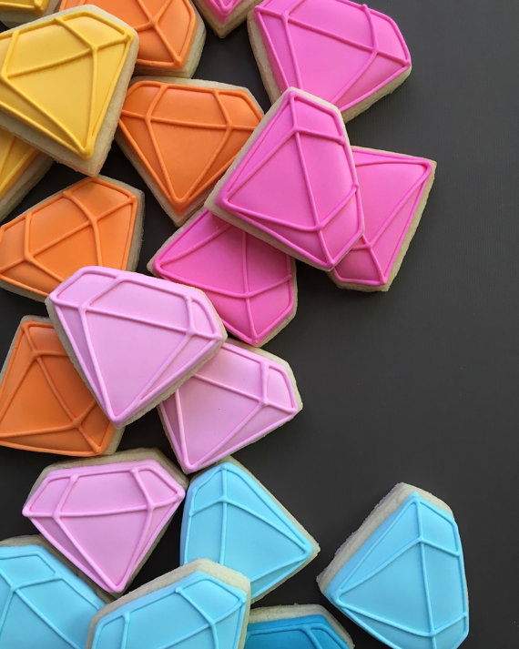 Gem cookies by Holly Fox