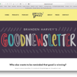 Brendan Harvey's Goodnewsletter