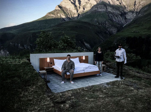Open-air hotel room 2