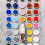 Colorful campaign for Santoni shoes