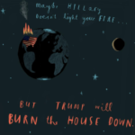 Burn the house down by Oliver Jeffers