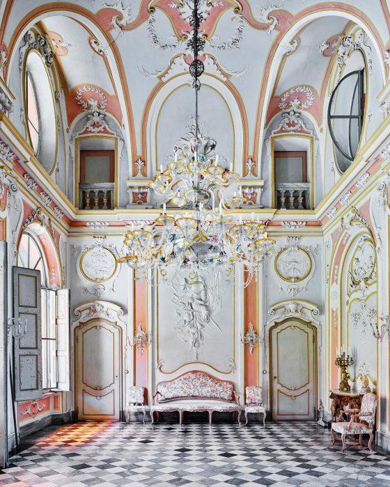 pastel room racconigi italy David Burdeny