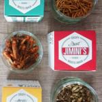 Jimini's edible insect snacks
