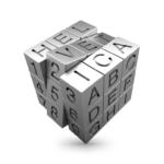 A Helvetica Rubik's cube