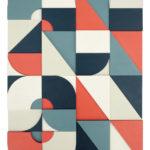Abstract typography art by Scott Albrecht