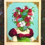 Flowerhead art prints by Nate Duval