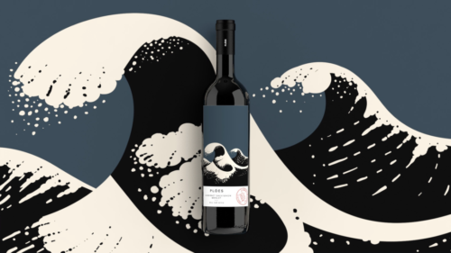 wine packaging design, beetroot design, wine label