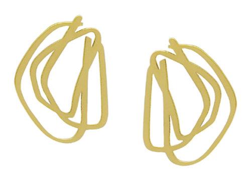 Scribble jewelry, Iris Saar Isaacs