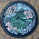 Japanese manhole covers are beautiful