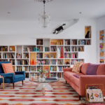 A house designed for cats and booklovers