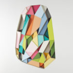 Art with colorful cut paper