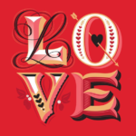 Love – lettering by Jessica Hische