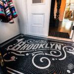 Mosaic floor in Brooklyn